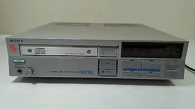 1983 Sony CDP-200 Audiophile Stereo CD CD-R Single Player Vintage Made in Japan