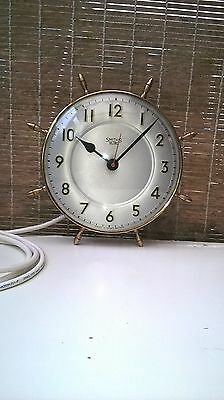 Smiths sectric  1950's ships wheel clock