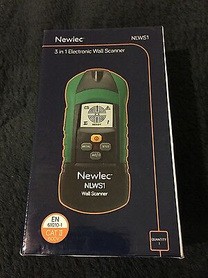 Newlec 3 in 1 Electronic wall scanner detector voltage pipe stud