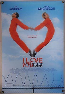 I Love You Phillip Morris Ds Rolled Orig 1Sh Movie Poster Jim Carrey (2010)