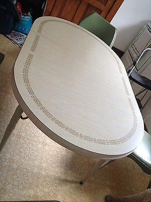 Vintage Retro Kitchen Table With Formica Top From The 1960's