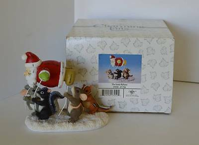 """Charming Tails """"The Santa Balloon"""" – Great Christmas Piece – #87/708"""