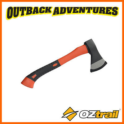 OZtrail CAMP HATCHET - 430MM CAMPING TOOL WITH DROP FORGED HEAD AXE