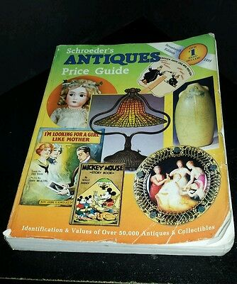 1999 Schroeder's Antiques Price Guide 17th Edition ~ Great Reference Book