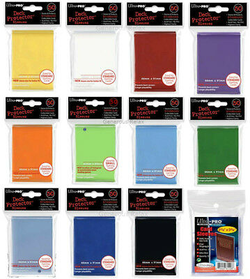200 100 50 Ultra Pro: Standard Size Card Sleeves - Deck Protectors - Size For Po