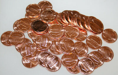 2010-P Roll Lincoln Shield Cents Uncirculated Red 50 coins