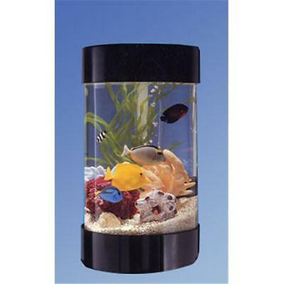 "Midwest Tropical AR-600 21 ""High Aquascape 8 Aquarium ronde Gallon"