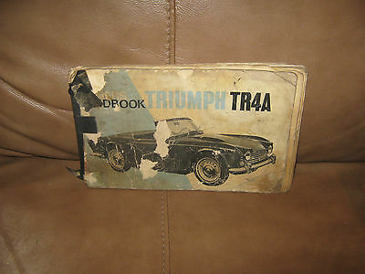 TR4A Owners handbook