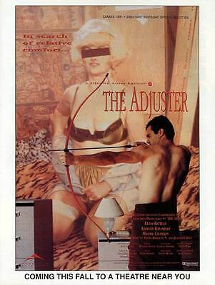 THE ADJUSTER Movie POSTER 27x40
