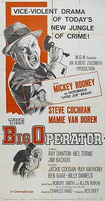 THE BIG OPERATOR Movie POSTER 20x40 Yves Montand Agostina Belli Claude Brasseur