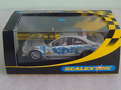 Scalextric Mercedes CLK DTM Slot Car Number C2567 Boxed, Working Order