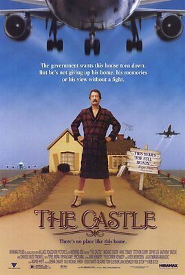 THE CASTLE Movie POSTER 27x40 Michael Caton Charles Tingwell Sophie Lee Anne