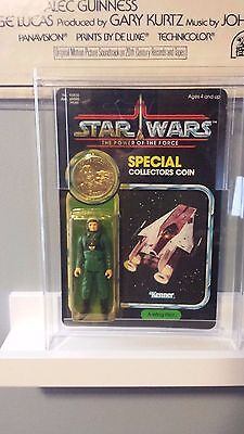 Vintage A-wing Pilot Last 17 Carded and Unpunched.. AFA ready