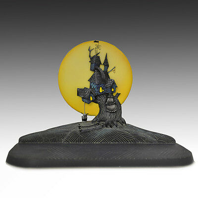 Nightmare Before OOGIE HOUSE FIGURE NMBX JASMINE BECKET-GRIFFITH DISPLAY STAND