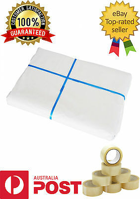 100 Sheets Butchers Packing White Wrapping Paper 2.5kg 600x810mm 100% Food Grade