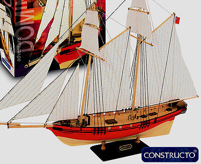 """Elegant, entry-level model ship kit by Constructo: the """"Dominica"""""""