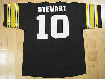 AWESOME!! 90s vtg KORDELL STEWART pittsburgh steelers JERSEY T SHIRT 50/50 XL