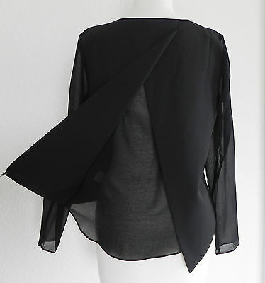 aff6c35bcff NEW BRANDY MELVILLE Top Black Hi-Low Long Sleeve Size M - $27.99 ...