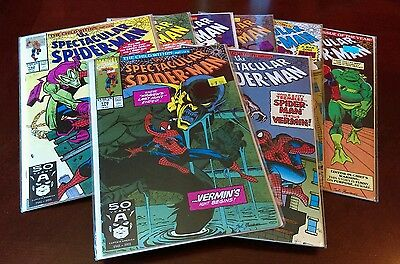 The Spectacular Spider-Man comics lot (issues #178-185)