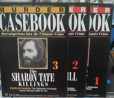 New Listing Murder Casebook 1/2/3 Crime Magazines Details Photos Below