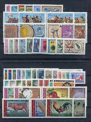 s11692) SYRIA MNH** 1970, complete year sets 60v.