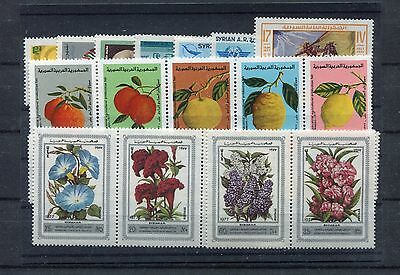s11699) SYRIA MNH** 1977, complete year sets 26v.