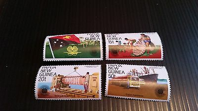 Papua New Guinea  1983 Sg 464-467  Commonwealth Day Mnh