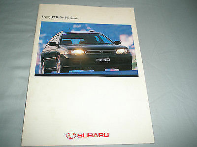 Subaru Legacy 4WD brochure May 1994 German text