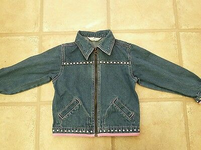 Girls Primark Denim Jacket 5 6 7 Years