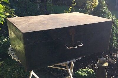 Vintage Wooden Chest ~ Box ~ Coffee Table ~ Storage