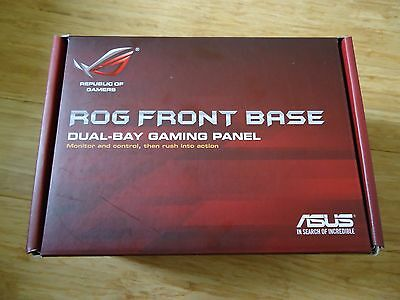 ASUS ROG Front Base Dual-Bay Gaming Panel