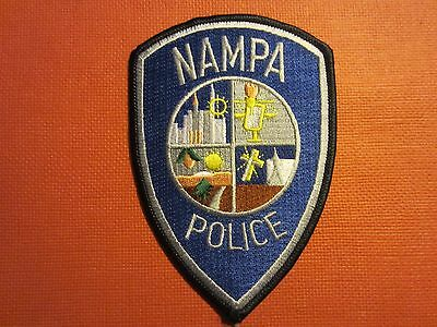 Collectible Idaho Police Patch Nampa New