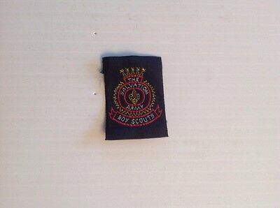 """Vintage """"the Salvation Army Boy Scouts"""" 1 1/4""""w X 1 5/8""""h Badge Canada"""