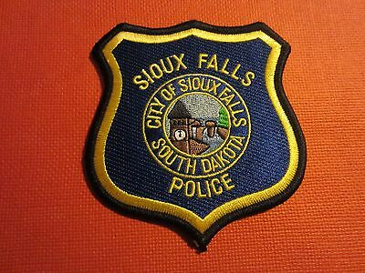 Collectible South Dakota Police Patch Sioux City New