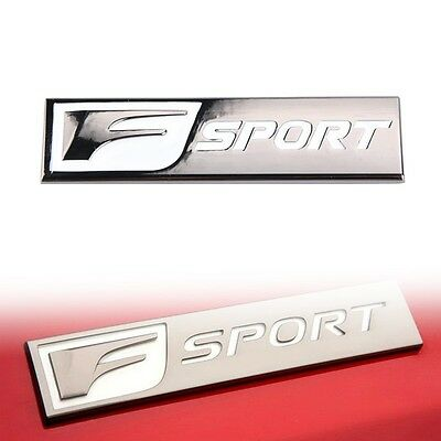 3D F SPORT Car Body Side Rear Emblem Sticker for Lexus ES GS NX IS RX Universal