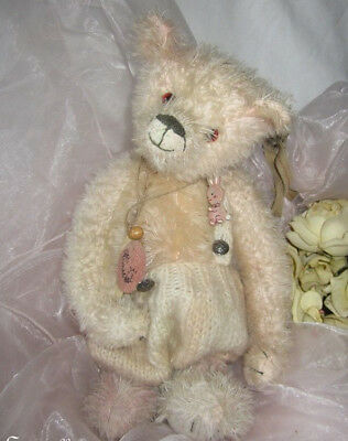"""♫ COLLECTION OURS d'Artiste CREATION """"Anickel"""", Pièce Unique Teddy Bear Mohair ♫"""