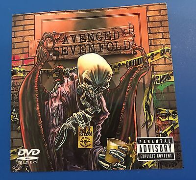 AVENGED Sevenfold All Excess sticker Decal RARE COPY Music Band PROMO 2007