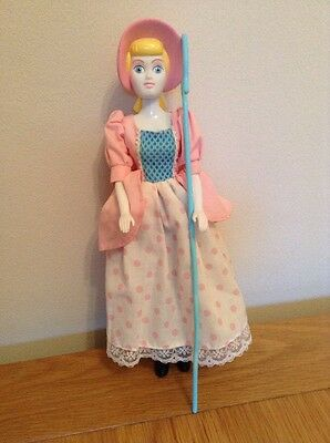 """Rare 12"""" Toy Story Posable Bo Peep Complete With Crook"""