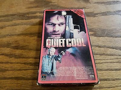 Quiet Cool 1987 VHS Video Tape James Remar action cult NOT DVD
