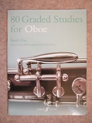 80 Graded Studies for Oboe Book One *NEW* publisher Faber