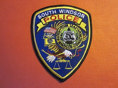 Collectible Connecticut Police Patch South Windsor New