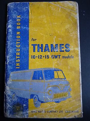 1959 Ford Thames 10/12/15 Cwt Models Instruction Book