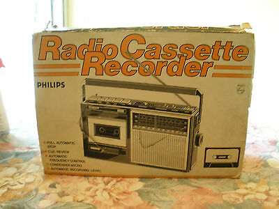Radio Philips 093 (Ghettoblaster Boombox)