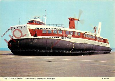 Postcard: HOVERCRAFT, THE 'PRINCE OF WALES', INTERNATIONAL HOVERPORT, RAMSGATE