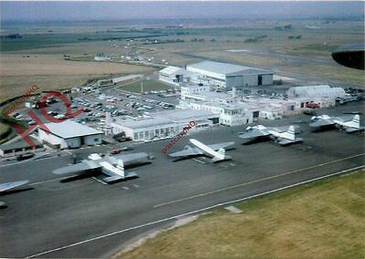 Postcard: LYDD AIRPORT, 1962 (REPRO)