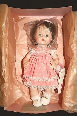 "Vntg 1965 Madame Alexaqnder Sweet Tears 12"" Doll Orig Box Bottle Pacifier Tags"