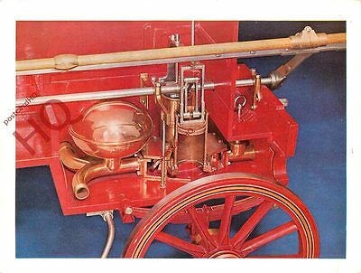 Postcard: SECTIONED FIRE ENGINE [SCIENCE MUSEUM]