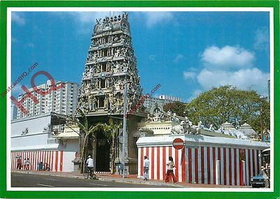 Postcard: Singapore, Sri Mariamman Temple