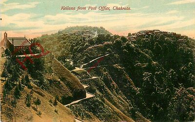 Postcard: Chakrata, Kailana From Post Office