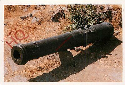 Postcard: Golconda Fort, Metal Cannon